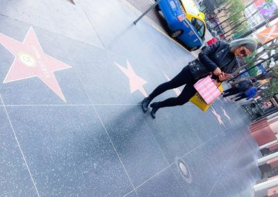 Walk of fame, Hollywood. Första 24h!
