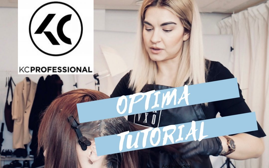 Tutorial med KC Optimas hårfärg